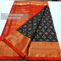 South Indian Wedding Saree, Saree Wedding, Wedding Saree Collection, Ikkat Silk Sarees, Cover Photos