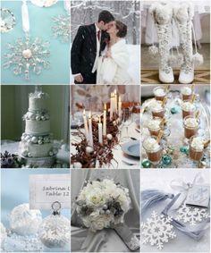Winter Wedding ideas from hotref.com #winterweddingideas
