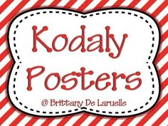 This pdf includes bright color posters for all of the kodaly hand signs: do' ti la so fa mi re do  Follow me on Facebook for Fan Freebies and Specials  Get more music teaching ideas by reading my blog - Making Music Memories