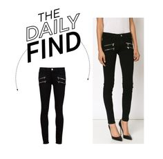 """""""Daily Find: Paige Skinny Jeans"""" by polyvore-editorial ❤ liked on Polyvore featuring Paige Denim and DailyFind"""