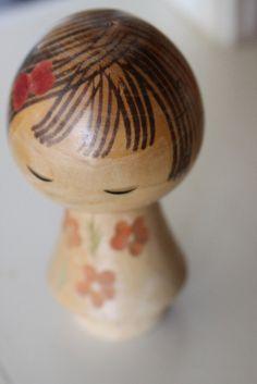kokeshismall vintage kokeshi from Japan.