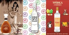 some of our amazing brands - Trader Vic's, UV Cake and Wodka..