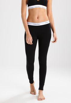 Calvin Klein Leggings, Calvin Klein Jeans, Cotton Nightwear, Black Noir, Cute Leggings, Calvin Klein Underwear, Calvin Klein Black, Fitness Fashion, Black Pants