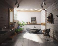 Đắm chìm trong những phòng tắm đẹp ngây ngất | Chung cư giá gốc