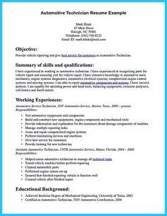 best mechanic resume example livecareer resume ideas pinterest resume examples