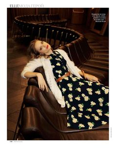 """First Lady"" Tanya Katysheva in Michael Kors for ELLE Russia May 2015"