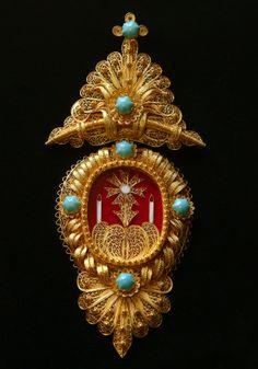 Filigrana jewelry (Custódia)