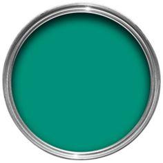 Colours One Coat Emerald Matt Emulsion Paint 2.5L: Image 1