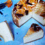 Sós karamellás sajttorta – Masnis Szuflé Naha, Waffles, Cheesecake, Breakfast, Food, Caramel, Morning Coffee, Cheesecakes, Essen