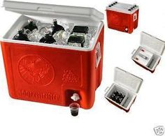 Brand New Jagermeister 6 Bottle Shot Cooler With Taps!