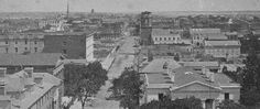 (1860) Panoramic view of Charleston, from the spire of St. Michael's Church - South Carolina