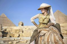 Louise Bourgoin as Adele Blanc-Sec in The Extraordinary Adventures of Adele Blanc-Sec