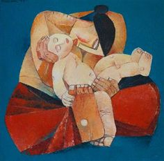 View Mother and Child by Ang Kiukok on artnet. Browse upcoming and past auction lots by Ang Kiukok. Mother And Child Painting, Filipino Art, Supreme Art, Philippine Art, Madonna And Child, Contemporary Artwork, Baby Art, Global Art, Cartoon Wallpaper