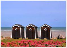 Cabines de plage - Ste Marguerite sur Mer