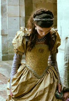 Beautiful Renaissance style gown