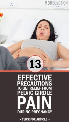 13 Effective Precautions To Get Relief From Pelvic Girdle Pain During Pregnancy