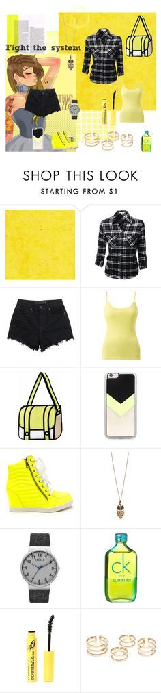 """""""Lemonade Stand"""" by ash-nz on Polyvore featuring Disney, T By Alexander Wang, Zero Gravity, Red Camel, Skagen, Calvin Klein, women's clothing, women's fashion, women and female"""