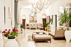 luxurious coctail lounge at La Piscine Art Hotel in Skiathos Island www.lapiscine.gr