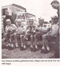 The 1967 Tour de France team.