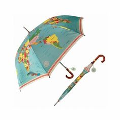 Wereldkaart paraplu