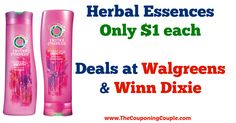 AWESOME DEAL! *CHEAP* Herbal Essences Shampoo, Conditioner Deals @ Walgreens + Winn Dixie!  Click the link below to get all of the details ► http://www.thecouponingcouple.com/cheap-herbal-essences-shampoo-conditioner-deals-walgreens-winn-dixie/ #Coupons #Couponing #CouponCommunity  Visit us at http://www.thecouponingcouple.com for more great posts!