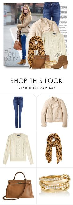 """""""ISABEL MARANT DICKER BOOTIES"""" by dgia ❤ liked on Polyvore featuring 3x1, Joseph, Polo Ralph Lauren, Roffe Accessories, Hermès, SPINELLI KILCOLLIN and Isabel Marant"""