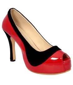 Late for party? Put on your red heels and steal the show!