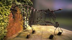 Bull at the Gate by Marcel Baettig (1995) by public-art.uk