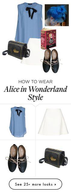 """Alice's adventures in Wonderland"" by isabel-ortiz on Polyvore featuring Twin-Set, Neil Barrett, Miz Mooz, women's clothing, women, female, woman, misses and juniors"