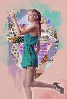 65 Ideas fashion art collage photoshop for 2019 Photoshop Illustrator, Illustrator Tutorials, Fashion Collage, Fashion Art, Trendy Fashion, Fashion Ideas, Fashion Design, Magazine Collage, Hipster Art