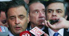 Senadores golpistas: Aecio Neves, recordista em citações na Lava-Jato