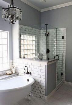 15 Modern Farmhouse Bathroom Makeover Decor Ideas