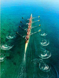 Lavoro di squadra   #watersport #sea #sport #mare