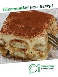 Tiramisu, fast, tasty and sure of success ! by ChristianCappel. A Thermomix ® recipe from the Desserts category www.de, the Thermomix ® community. Winter Desserts, Easy Desserts, Delicious Desserts, Desserts Thermomix, Holiday Party Appetizers, Tiramisu Recipe, Dessert Sauces, Food Menu, Chocolate Desserts