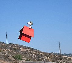Snoopy drone!