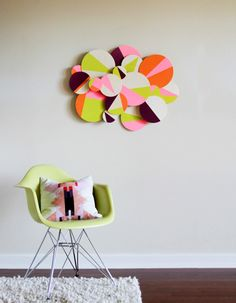 DIY Geometric Wall A