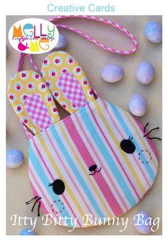 Itty Bitty Bunny Bag - This is so darn cute!