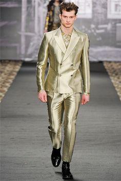 Just Cavalli Fall Winter 2012 | メンズファッションスナップ フリーク | 着こなしNo:148