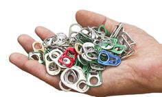Buenas ideas para reciclar las anillas de las latas http://lasmanualidades.imujer.com/146320/increibles-ideas-con-anillas-de-latas-que-te-dejaran-boca-abierta?utm_source=Facebook&utm_medium=Lorena&utm_campaign=Fanpage_iMujer