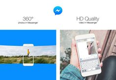 Facebook Messenger now lets you send 360-degree photos and HD videos - DIY Photography  ||  After Facebook enabled sending 4K images through Messenger, the company has improved the app once again. From now on, you will be able to share your 360-degree photos and…