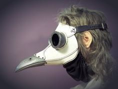 A steampunk leather plague doctor's mask Ichabod Steampunk Bird, Steampunk Mask, Plague Mask, Real Plague Doctor Mask, Plague Dr, Bird Masks, Paper Mask, Arte Horror, Metal Casting