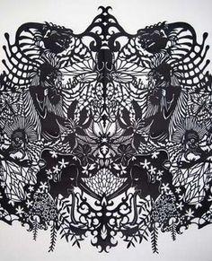 Kako Ueda paper cut art