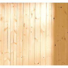 EverTrue 8-ft Stain Grade Knotty Pine V-Groove Wainscot