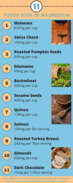 These foods can be a great way to get more magnesium.