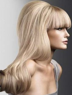 Hot Fringes and Bangs Hairstyles