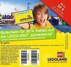 #Ticket  Gutschein 30% auf Jahreskarte im Legoland Günzburg bis 30.09.2016!! #Ostereich