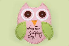 Tracy Scott Design: Owl Invitations