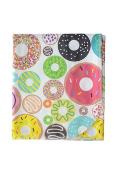 organic cotton baby blanket in donuts http://www.candykirbydesigns.com/products/organic-cotton-baby-blanket-in-donuts