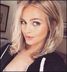 Mittellang Frisuren für Ovale Gesichter | Bobs | Pinterest ... | Einfache Frisuren