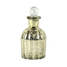 Gold Glass Perfume Bottle